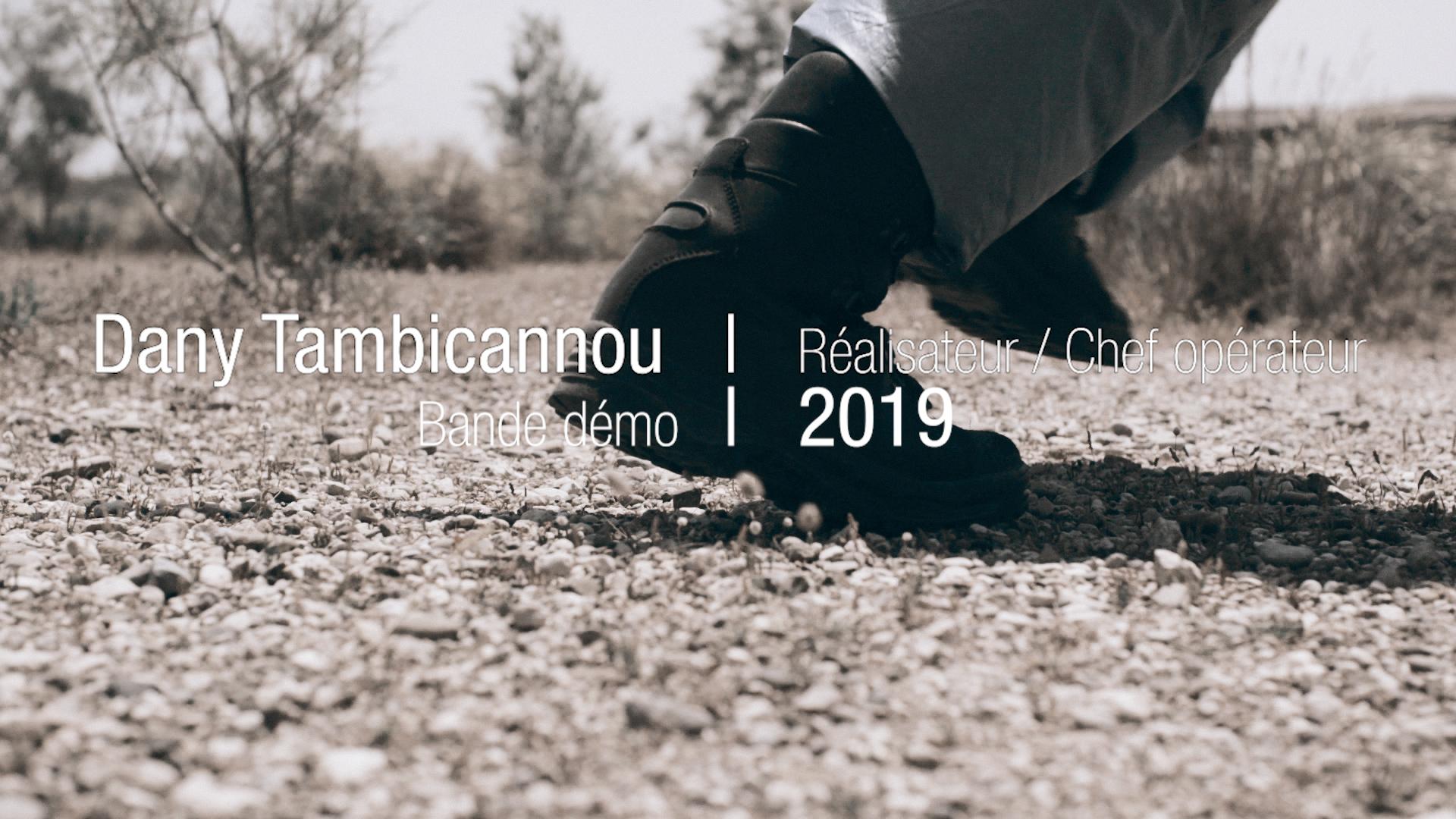Image Bande démo Réalisation-Chef opérateur 2019